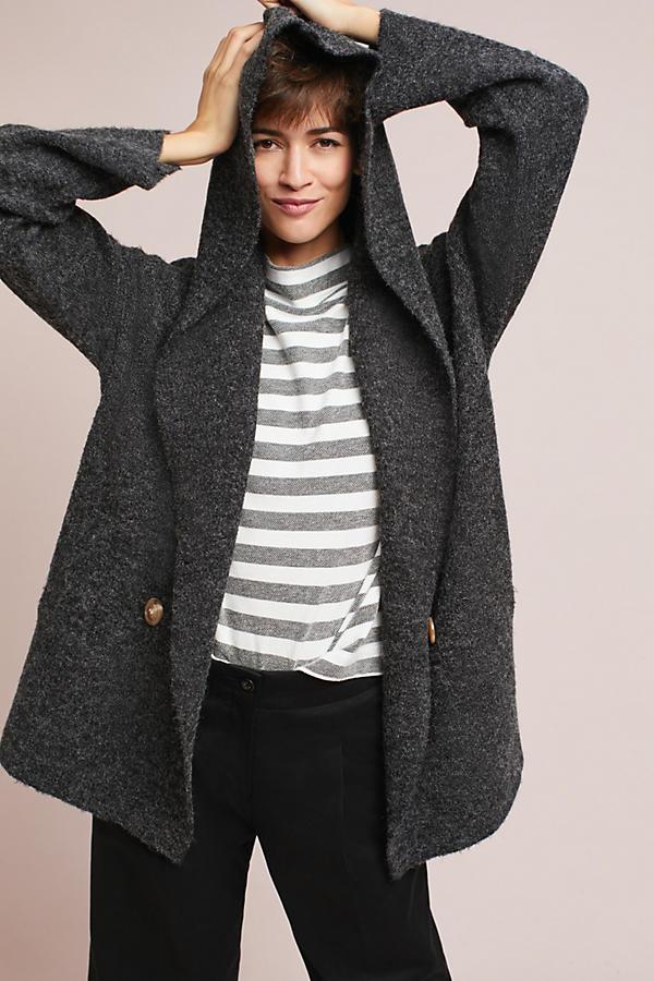 Calli Buttoned Sweater Coat