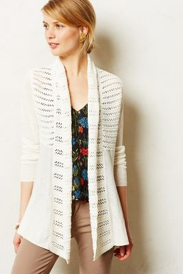 Visionary Backpleat Cardigan