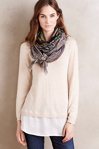 Layered Duet Pullover