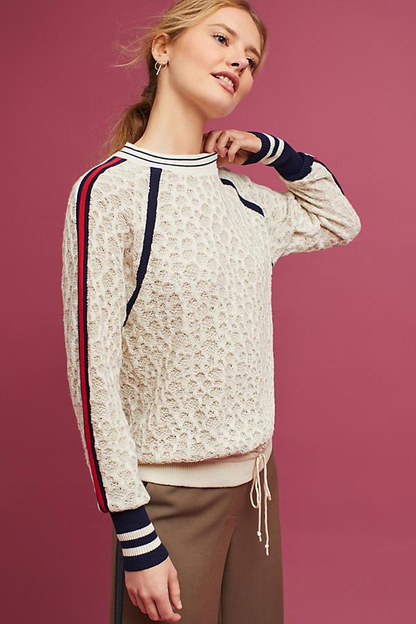 Collegiate Drawstring Pullover