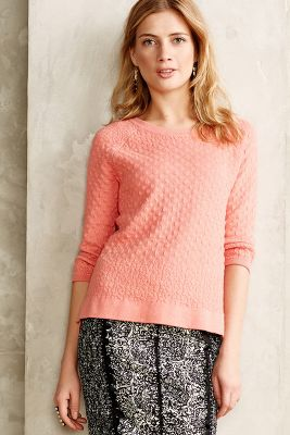 Waffled Pullover