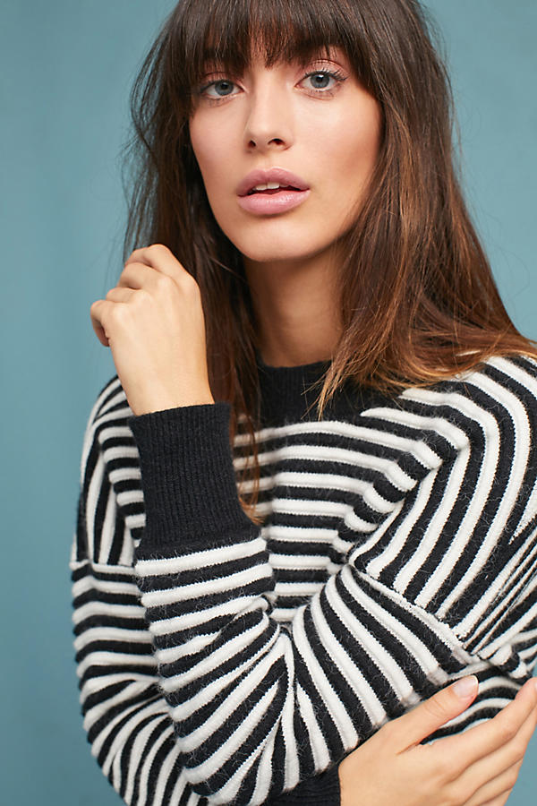 Cozy Striped Pullover
