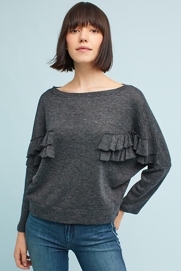 Sinead Ruffled Pullover