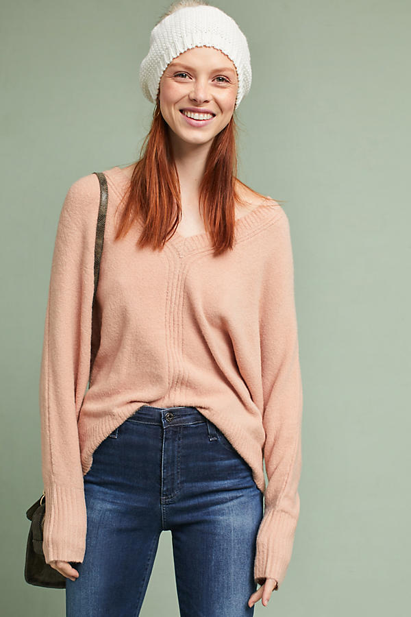High-Low V-Neck Tunic