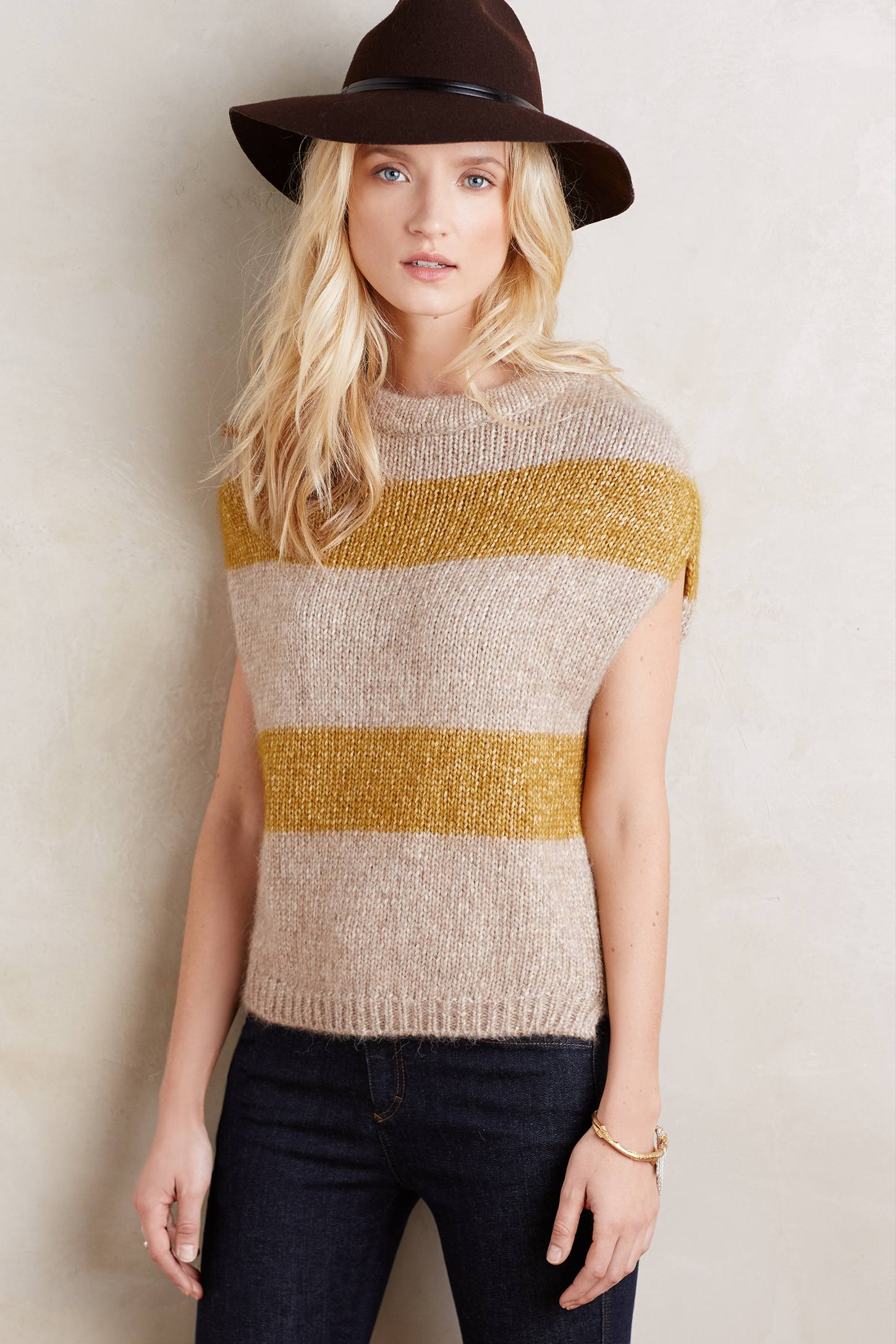 Sunstripe Sleeveless Pullover