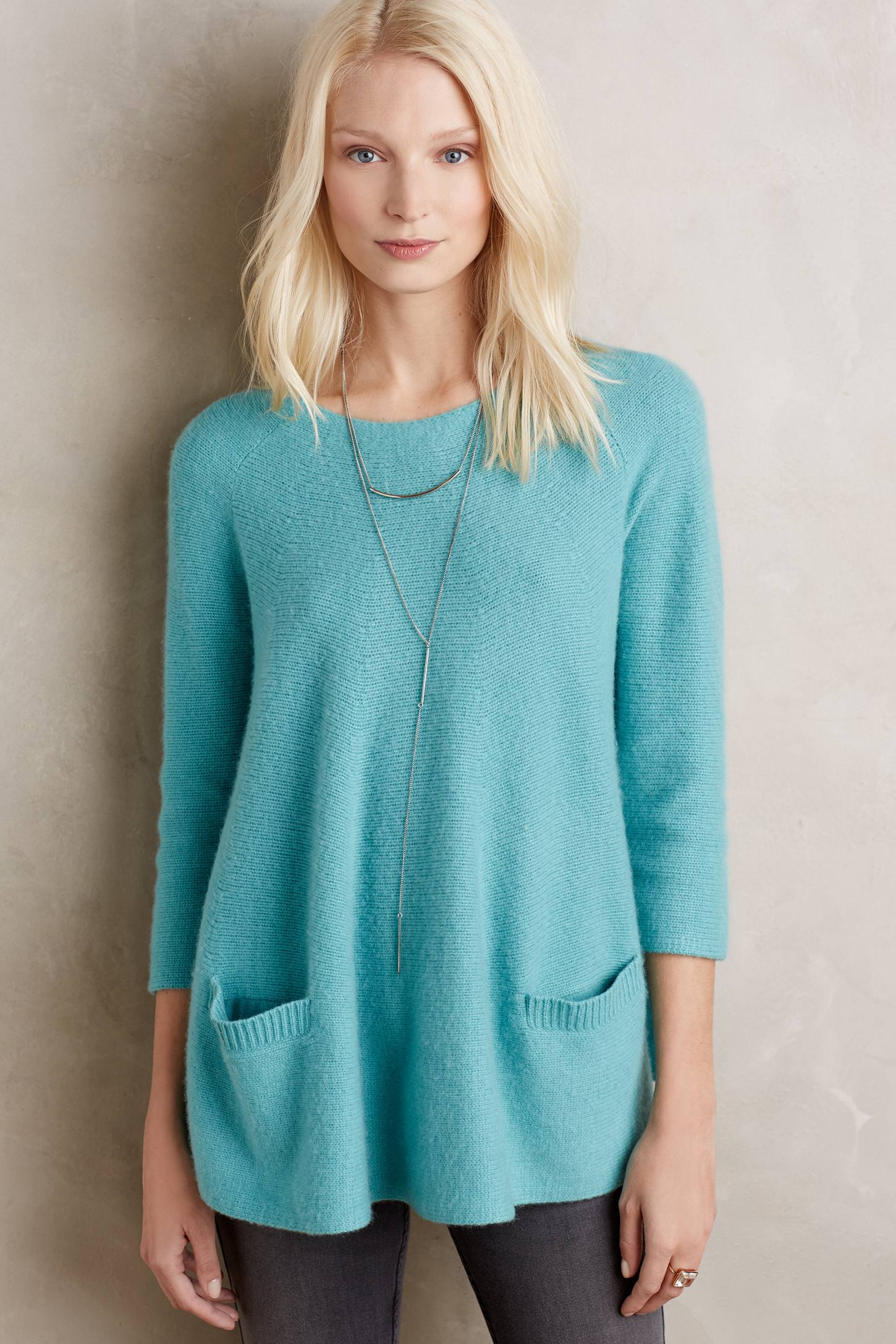 Cashmere Swing Pullover