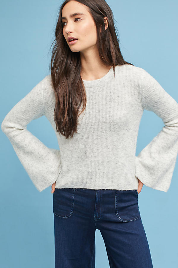 Dixie Bell-Sleeve Pullover