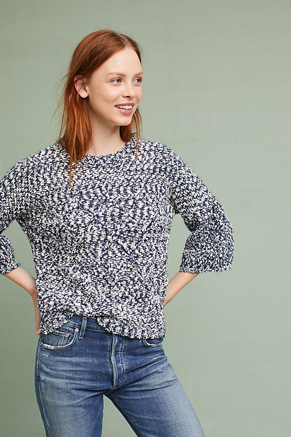 Maggie Marled Pullover