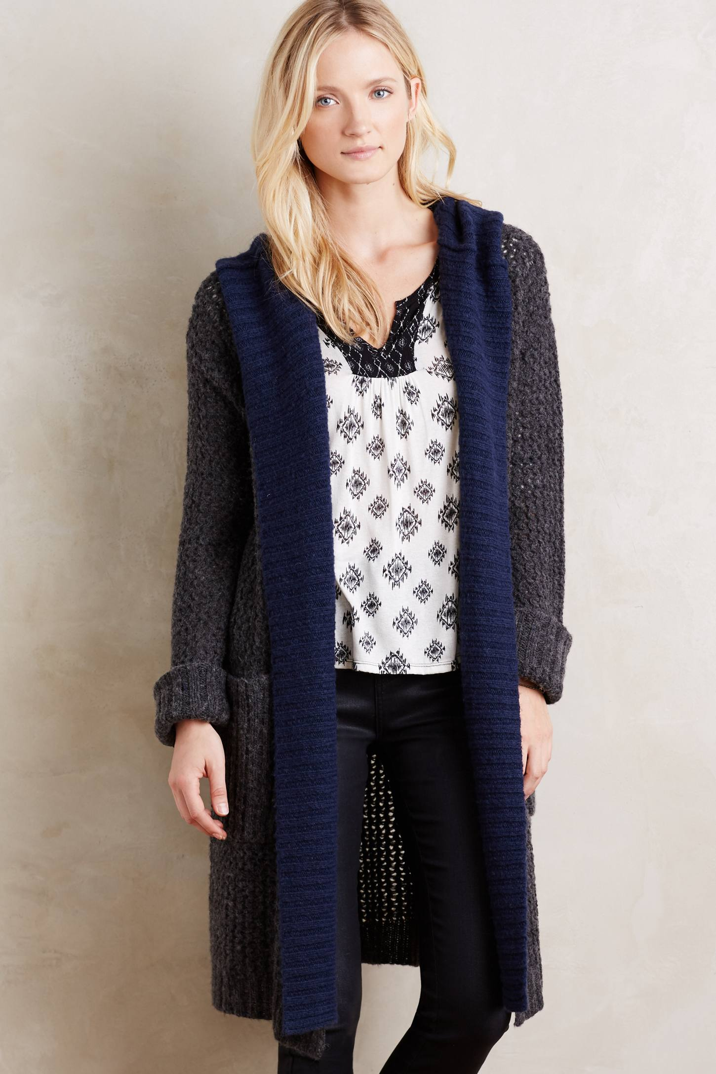 Hooded Lodge Cardigan