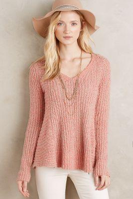 Zipped Stitch Pullover