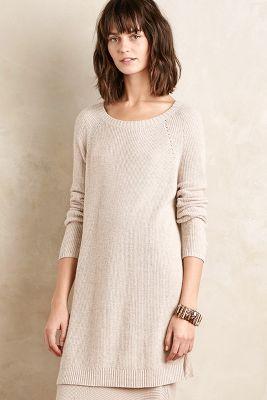 Split Sweater Tunic