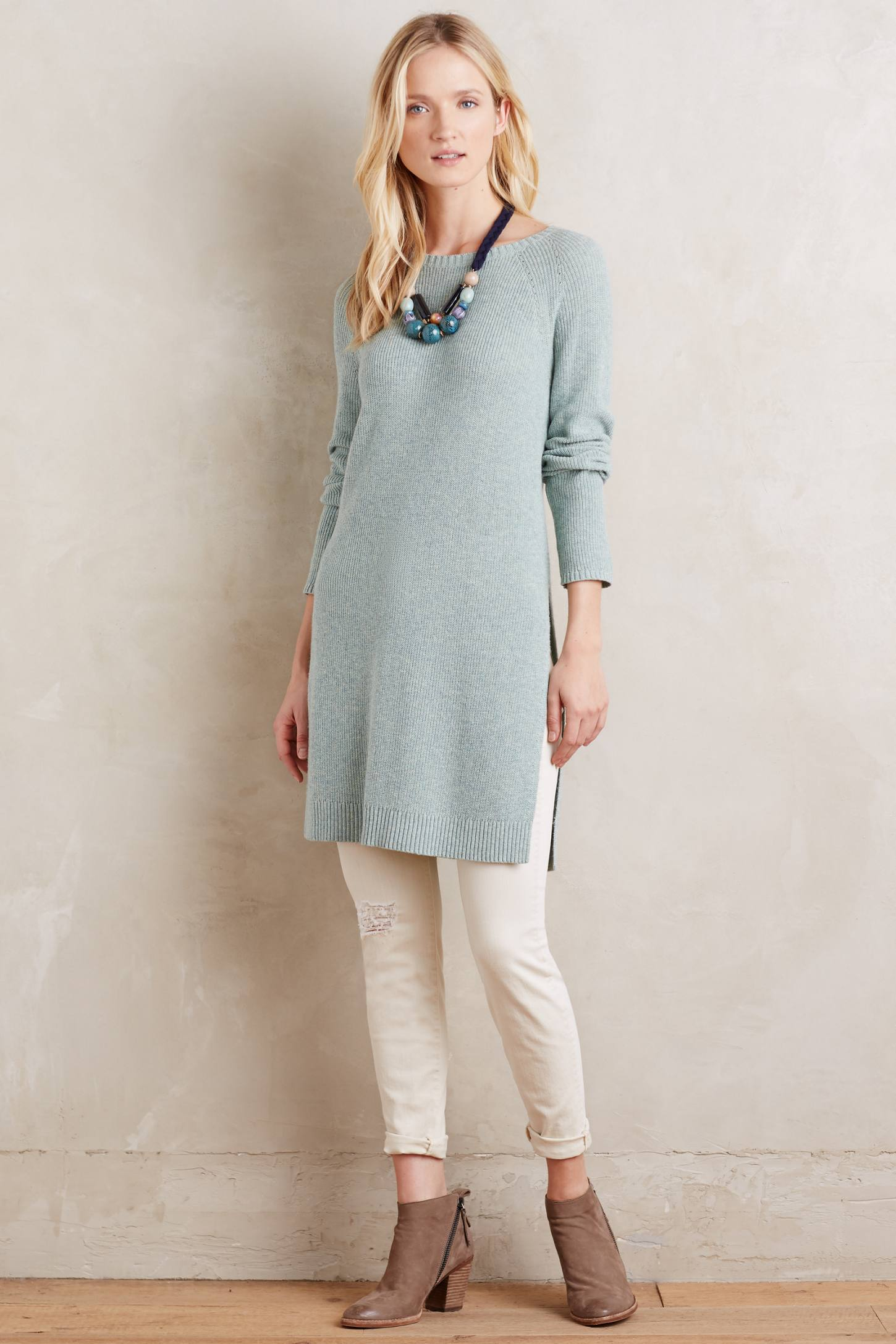 Split Sweater Tunic