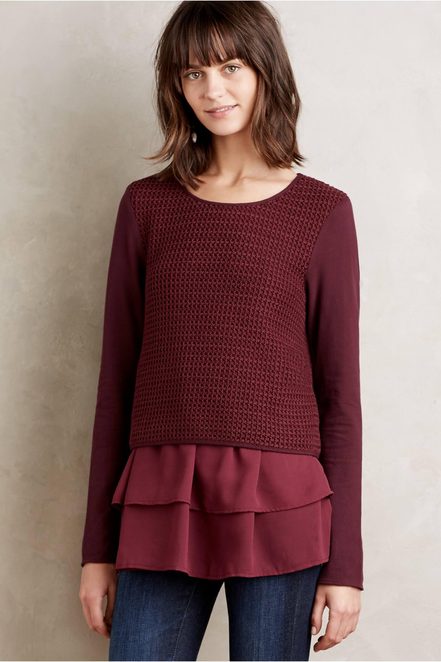 Layered Namsen Pullover
