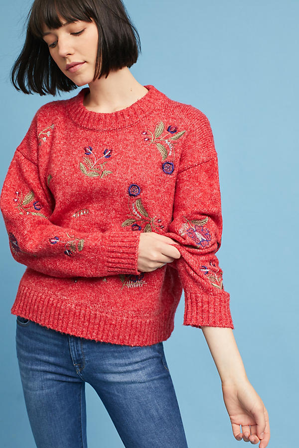 Terese Embroidered Pullover