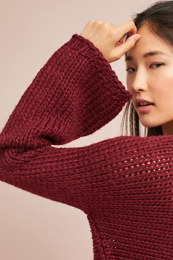 Ruby Bell-Sleeved Pullover