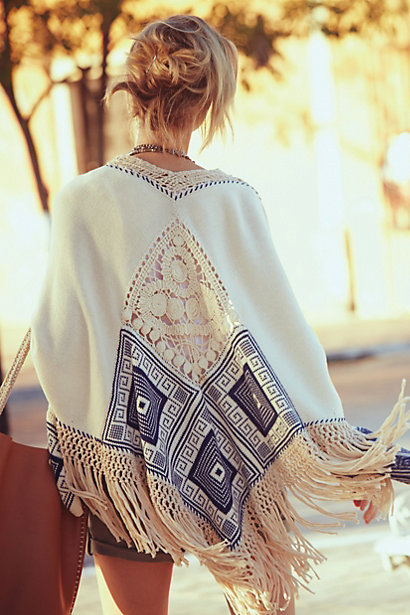 Sale alerts for Anthropologie Chapala Poncho - Covvet