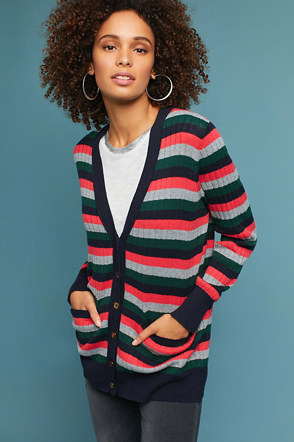Jamison Striped Cardigan