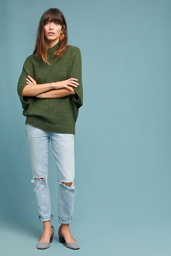 Maleah Mock Neck Pullover