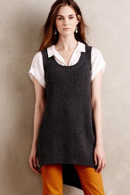 High-Low Sweater Vest