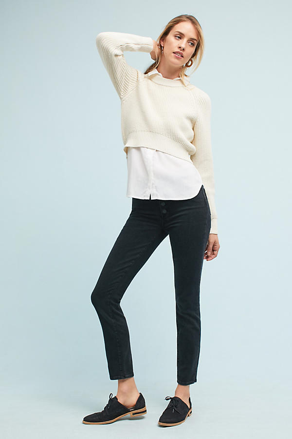 Shaker High-Low Sweater