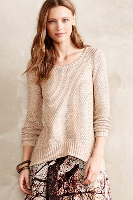 Shimmer Stitch Pullover
