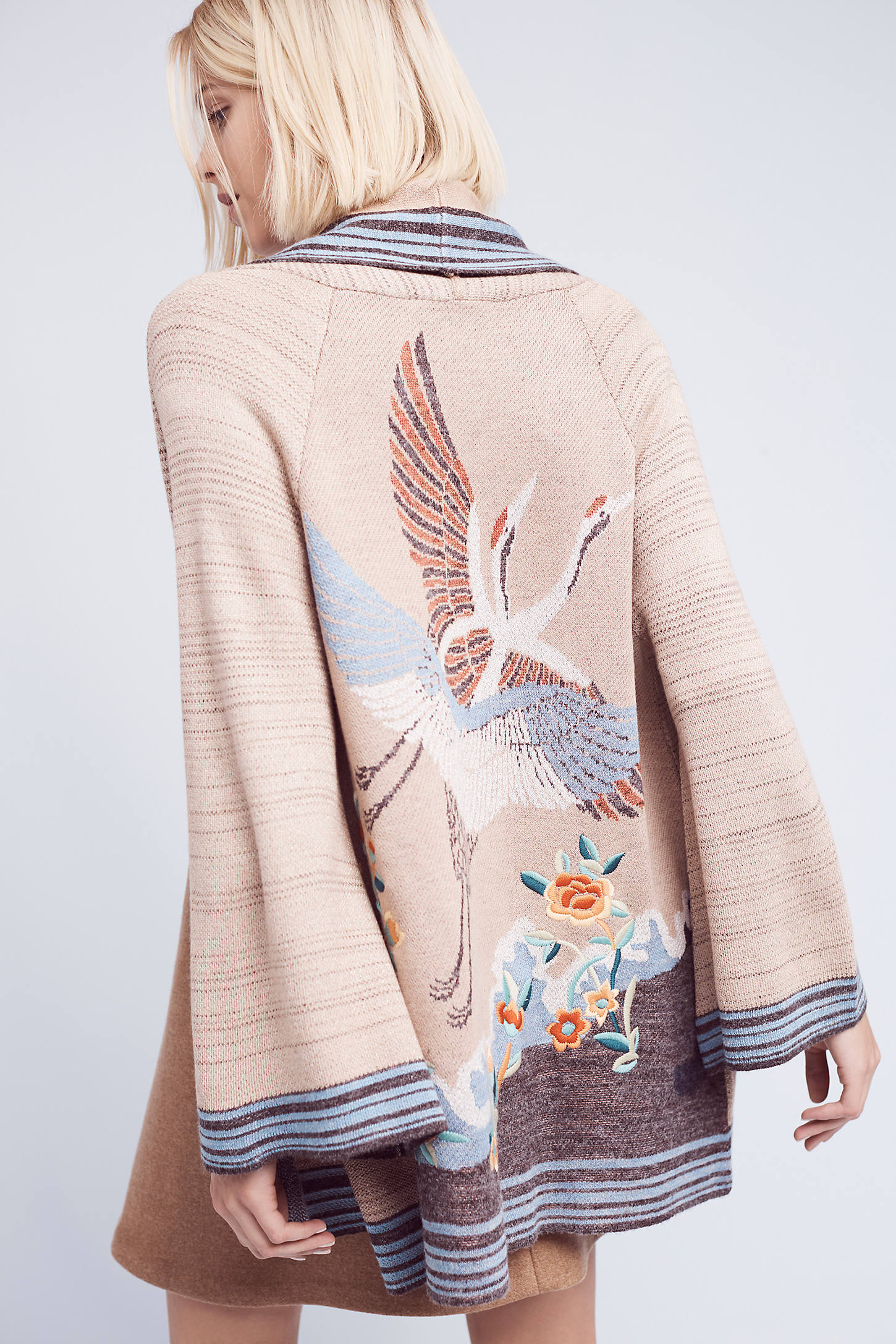 Crane Cardigan, Neutral