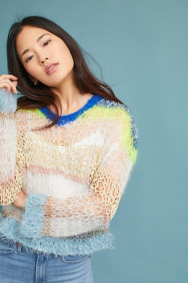 Steffy Stitched Pullover