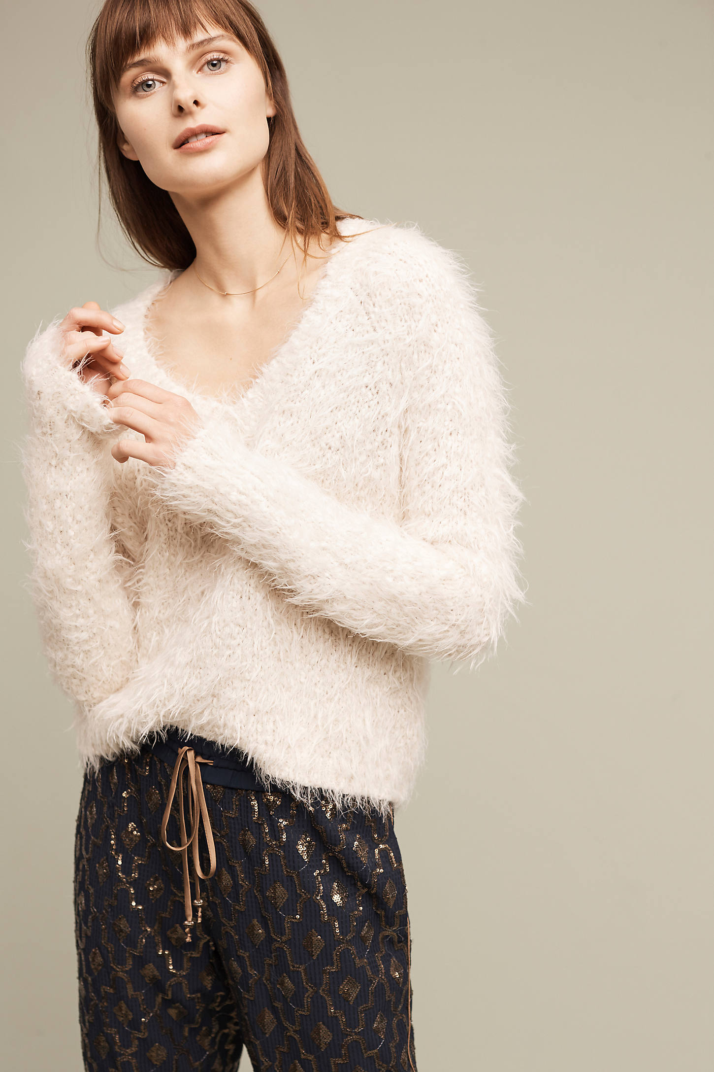 Snowfrost Boucle Pullover
