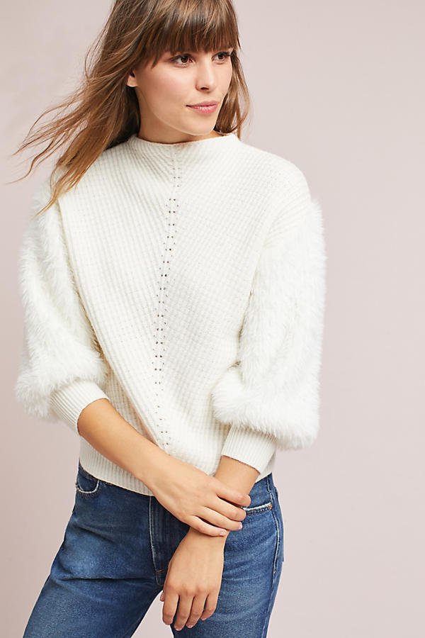 Soft-Sleeved Sweater