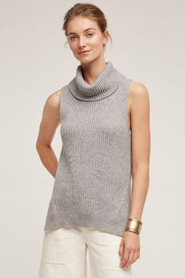 Cowled Sweater Tank