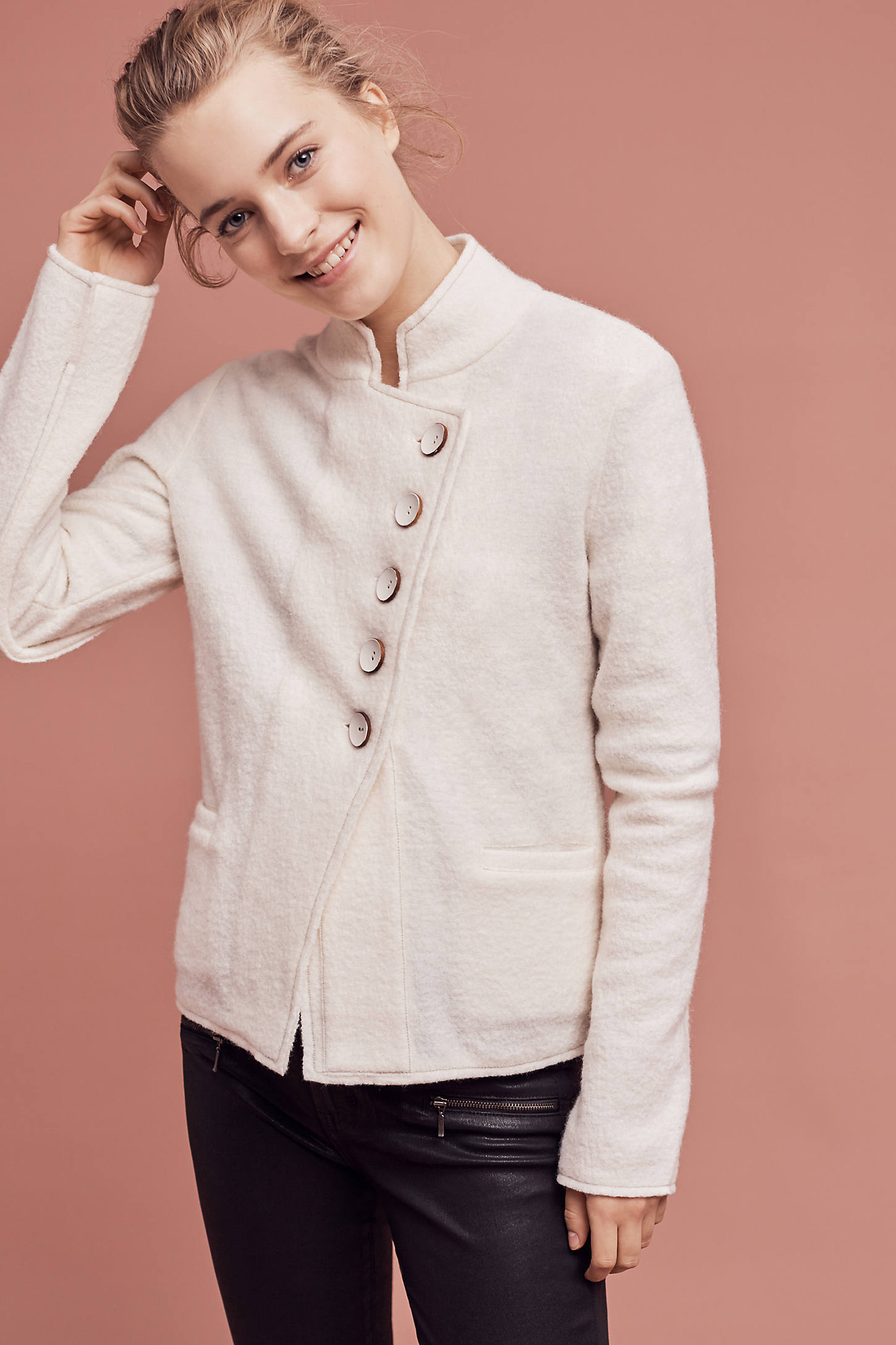 Military Sweater Coat