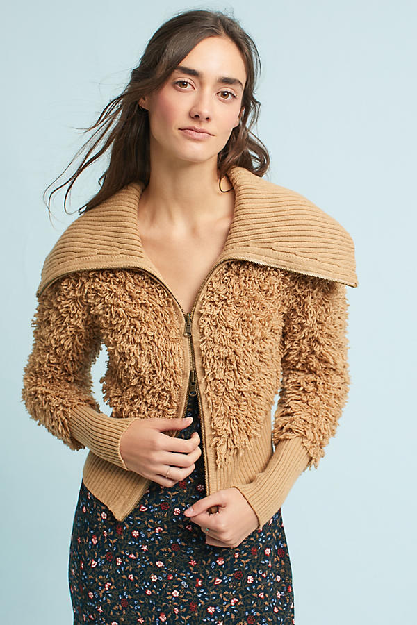 Yvetta Textured Knit Bomber
