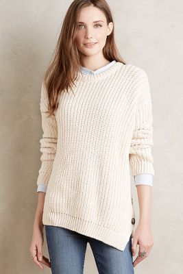 Buttoned-Up Pullover