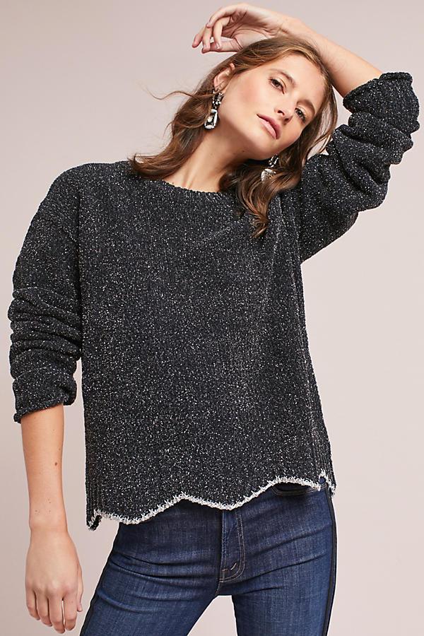Shimmer Pullover