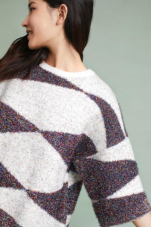 Sparkling Geo Sweater