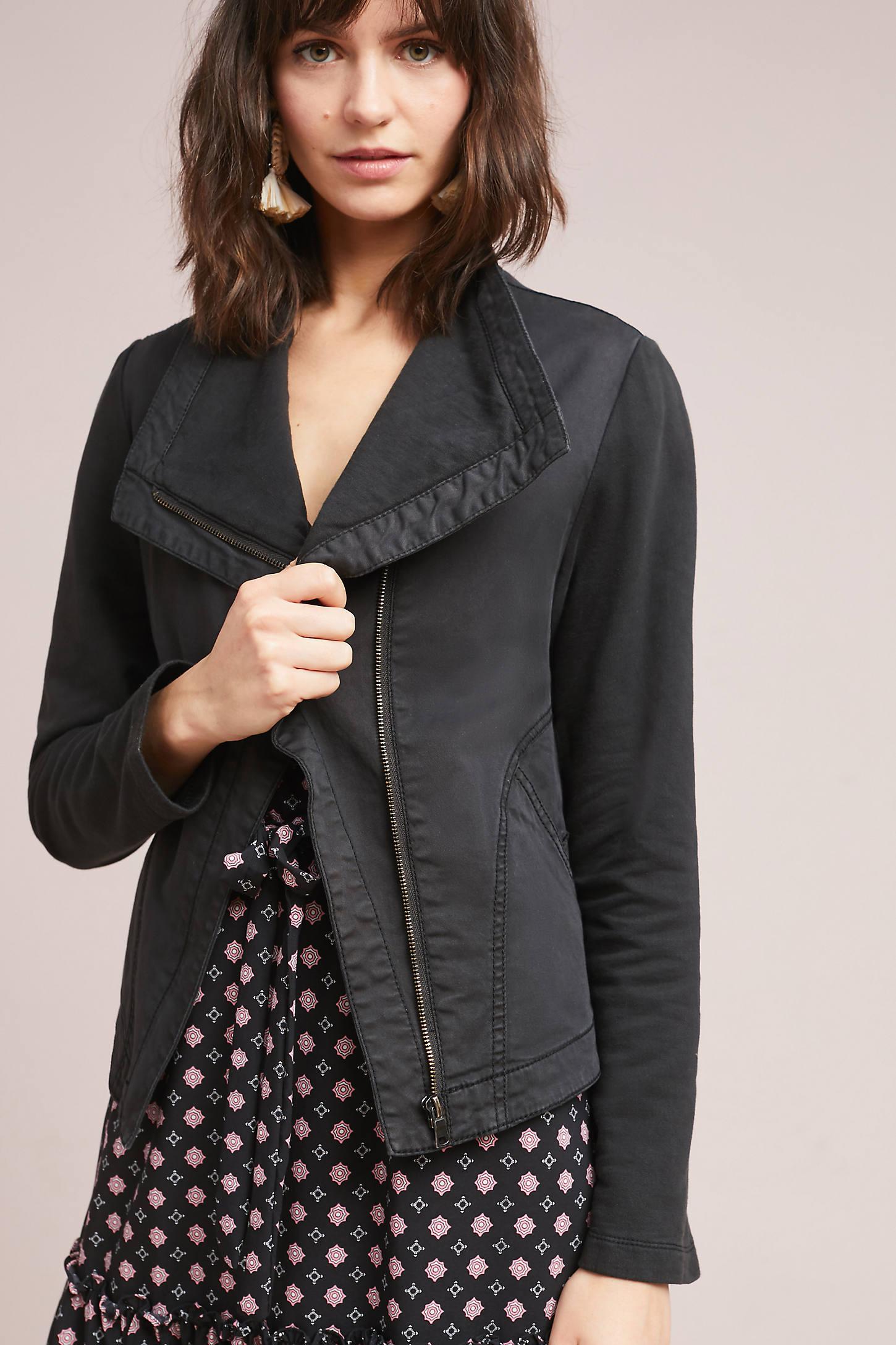 Faravel Moto Jacket, Black