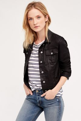 Kelly Coated Denim Jacket