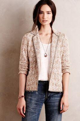 Paracas Knit Blazer