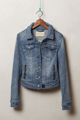 Pilcro Zip-Pocket Denim Jacket