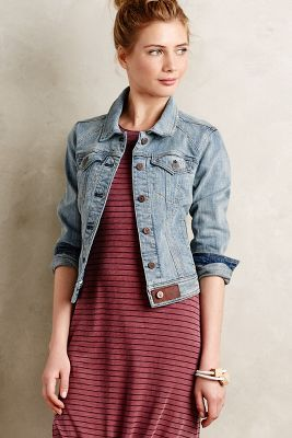 Pilcro Rosegarden Denim Jacket