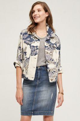 Pilcro Jacquard Shirt Jacket