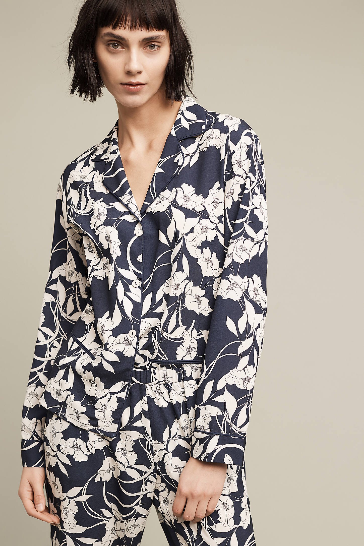Elderflower Pyjama Shirt