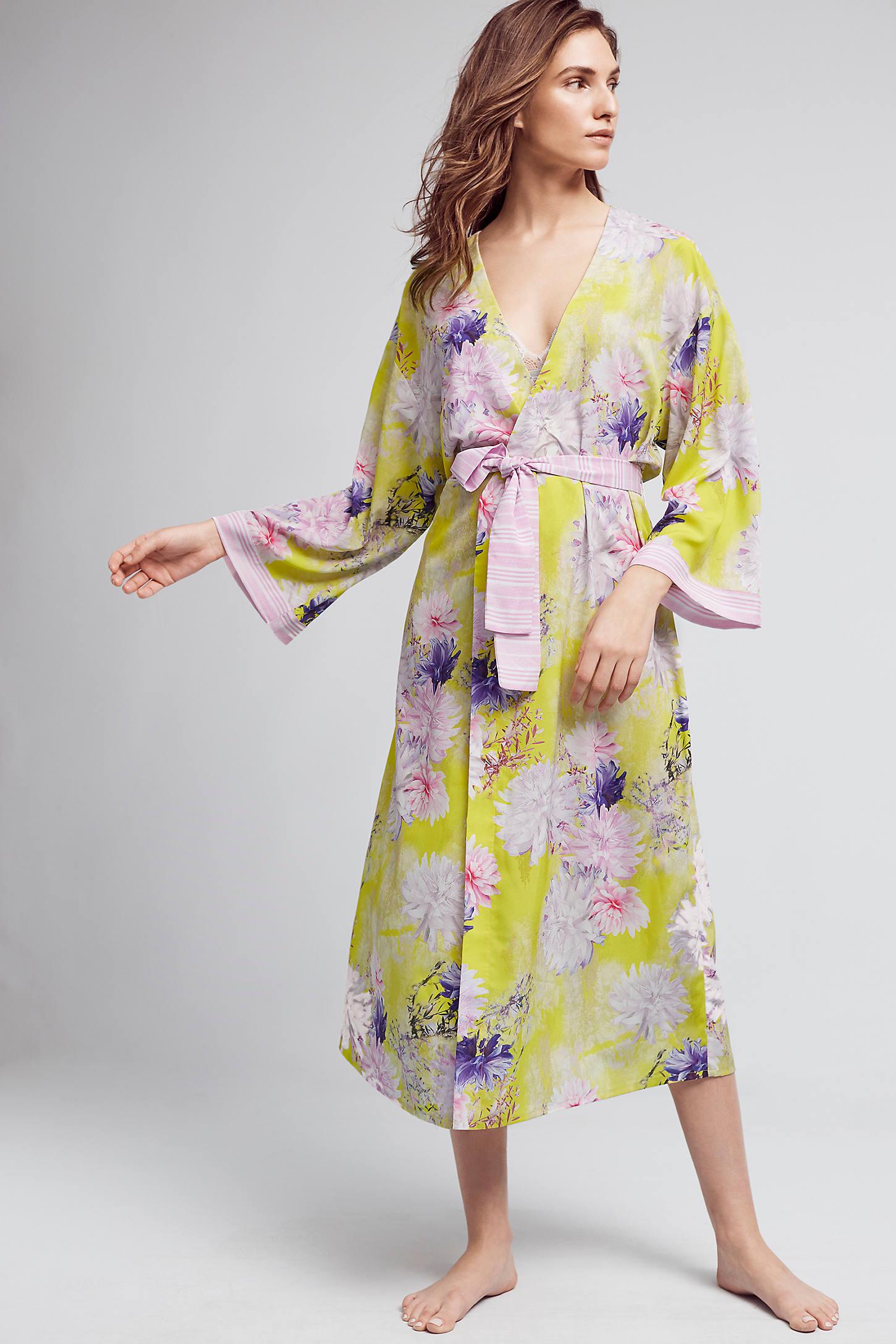 Elderflower Midi Robe