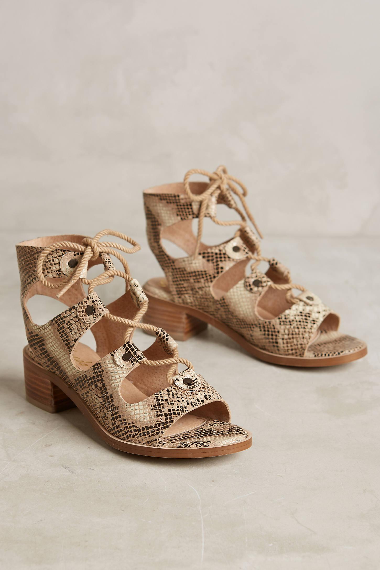 Lien. Do Marbella Lace-Up Sandals