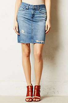 AG Denim Pencil Skirt