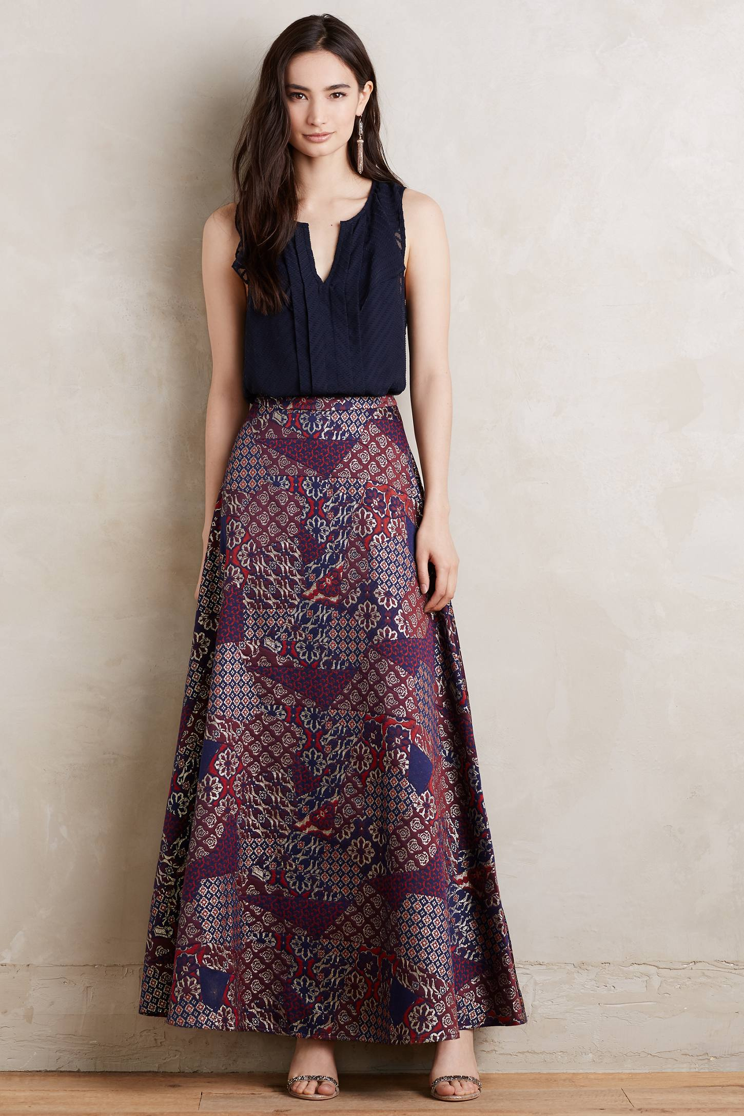 Brocade Ball Skirt