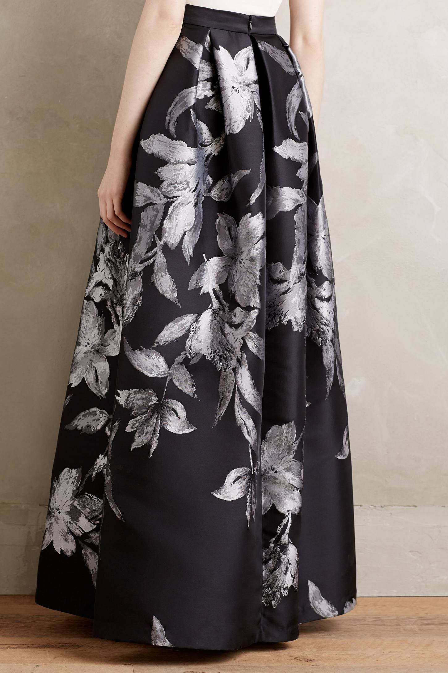 Etched Blooms Ball Skirt