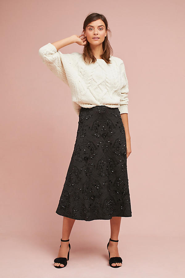 Tracy Reese Beaded Skirt