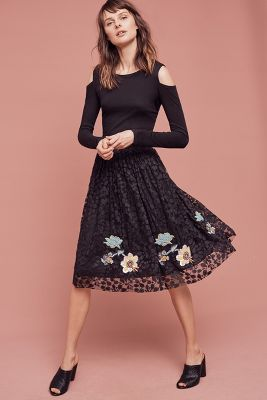 Wildflower Lace Skirt
