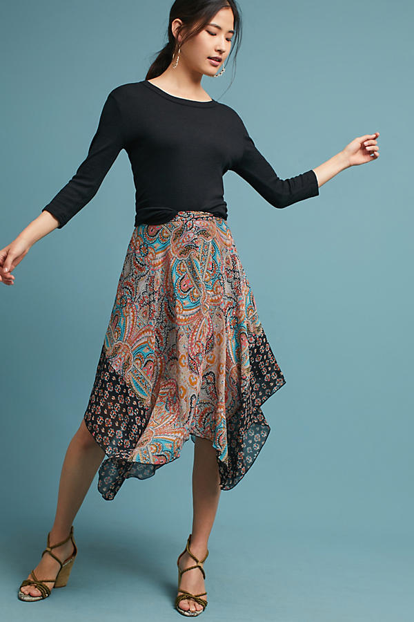 Jazmin Paisley Skirt